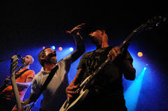 Millencolin performs at Barcelona Stock Photography