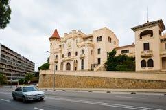 Cuartel Del Bruch w Barcelona. Hiszpania Zdjęcie Stock