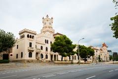 Cuartel Del Bruch w Barcelona. Hiszpania Zdjęcia Stock
