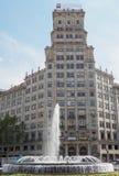 Barcelona, Spain - 25 September 2016: Gruppo Generali insurances building. Royalty Free Stock Photo