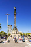 BARCELONA, SPAIN - SEPTEMBER 17, 2015: illegal street dealers se royalty free stock images