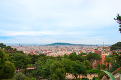Barcelona, Spain at summer. Stock Images