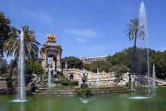 Barcelona - Spanien Arkivbilder