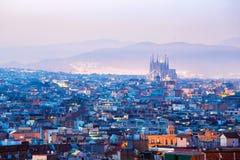Barcelona Spanien Royaltyfria Foton