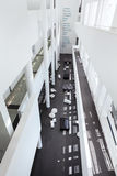 Barcelona, Spanien - 18. April 2016: Innenraum, MACBA Museo De Arte Contemporaneo, Museum der zeitgenössischer Kunst Stockfotografie