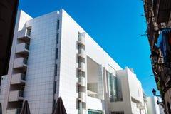 Barcelona, Spanien - 18. April 2016: MACBA Museo De Arte Contemporaneo, Museum der zeitgenössischer Kunst Stockfotografie