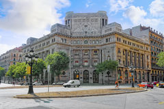 BARCELONA, SPANIEN - 28. AUGUST 2008 Lizenzfreies Stockbild