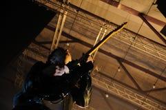 Ben Lovett, gitarrist av Mumford och Sons Royaltyfri Bild