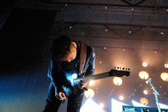 Ben Lovett, Gitarrist von Mumford und Söhne Stockbild