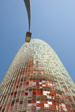 Agbar står hög, Barcelona Arkivbild