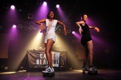 CarteBlanche deejays utför på Razzmatazz Royaltyfria Bilder