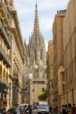 Barcelona. It is a Spanish city, capital of the province of Barcelona and of the autonomous community of Catalonia Stock Photo