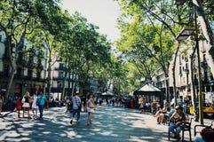 Barcelona, Spanje Stock Afbeelding