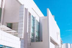 Barcelona, Spanje - April 18, 2016: MACBA Museo DE Arte Contemporaneo, Museum van Eigentijds Art. Royalty-vrije Stock Foto