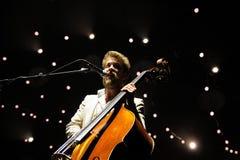 Ted Dwane, bassist van Mumford en Zonen Royalty-vrije Stock Foto