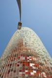 De Toren van Agbar, Barcelona Stock Fotografie