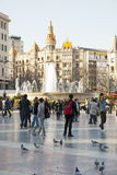 Barcelona, Spanje Stock Foto's
