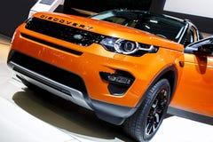 BARCELONA, SPANJE - MEI 2015: Range Rover Stock Fotografie