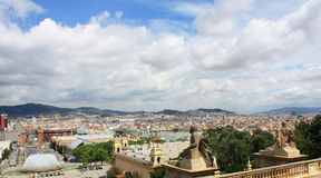Barcelona Spring. Royalty Free Stock Photos