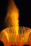 barcelona springbrunn Royaltyfri Fotografi