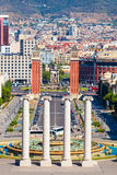 Barcelona, square of Spain, Plaza de Espana Stock Photography