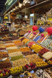 Barcelona - St Joseph Food Market - Spain. Stock Image