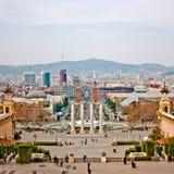barcelona stad royaltyfri foto