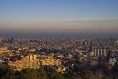 Barcelona stad, Spanien royaltyfria bilder