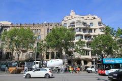 Barcelona-Stadtstraßenansicht Stockfoto