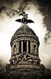 barcelona staty Arkivbilder
