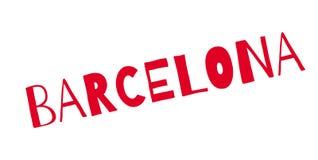 Barcelona-Stempel lizenzfreie abbildung