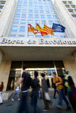 Barcelona Stock Exchange Stock Photography