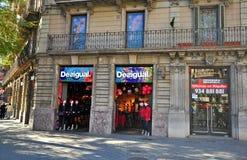 Barcelona street corner Royalty Free Stock Photo