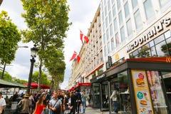 Barcelona streets Royalty Free Stock Photography