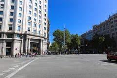 Barcelona streets Royalty Free Stock Image