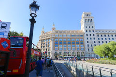 Barcelona streets Royalty Free Stock Photos