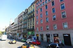 Barcelona streets Royalty Free Stock Photo