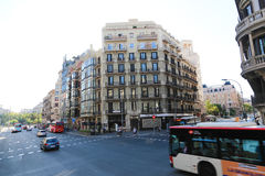 Barcelona streets Royalty Free Stock Image