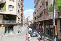 Barcelona streets Stock Photos