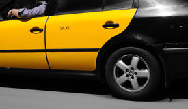 Barcelona taxi Royalty Free Stock Photos