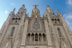 Barcelona. Temple of the holy heart of Jesus. Royalty Free Stock Image