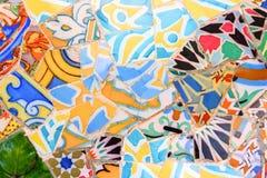 Barcelona tiles Stock Photos