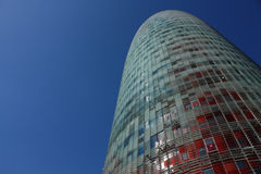 Barcelona, Toren Stock Foto