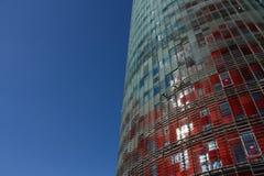 barcelona torn Royaltyfri Fotografi