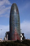 Barcelona - Torre Agbar Royalty Free Stock Photos