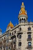 Barcelona traditional architecture (Spain) - 11 Royalty Free Stock Photography