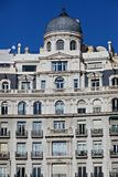 Barcelona traditional architecture (Spain) Stock Images