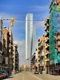 Barcelona traditional architecture, Spain Royalty Free Stock Image