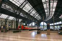 Barcelona train station Royalty Free Stock Images