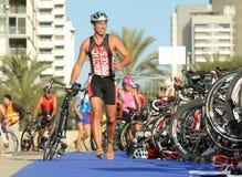 Barcelona Triathlon Stock Photos